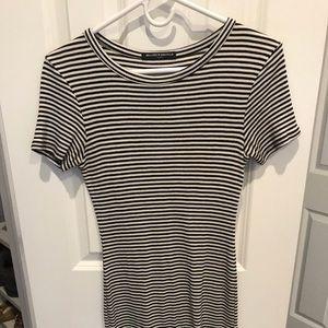 Stripes mini dress- brandy Melville